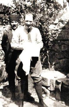 Gazi Mustafa Kemal in Çankaya, 1920's