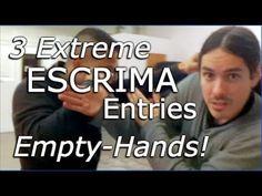 Kali EMPTY HANDS ENTRIES and Drills - Kali Escrima Arnis Empty Hands - YouTube