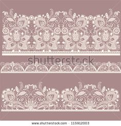 stock vector : All elements and textures are individual objects. Vector illustration scale to any size. Watercolor Paper Texture, Lace Painting, Retro Background, Elements Of Design, Wedding Art, Texture Art, Free Vector Art, Textures Patterns, Lace Patterns