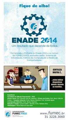 ENADE 2014, Tirinha Gentileza Digital, Assinatura FUMEC.