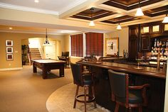 Basement bar ideas photo