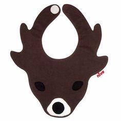 [niva/kojika bib] クリスマスと言わず、今すぐ子どもにつけてあげたくビブ(スタイ)。子どもがつけた姿を想像するだけで、ニヤニヤしてしまいます♪
