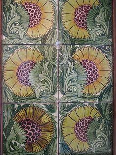 William De Morgan Tiles by Martin Beek, via Flickr