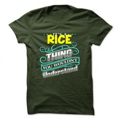 RICE T-Shirts, Hoodies (19$ ==► Order Here!)