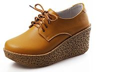 Wansi Women's Lace-up Platforms Oxford,Yellow,7.5 M US Wansi http://www.amazon.com/dp/B00URUPBZM/ref=cm_sw_r_pi_dp_wH7bvb0WVKV1D