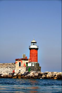 #Lighthouse in Ischia Porto, #Italy http://www.roanokemyhomesweethome.com
