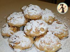 Vanilla and cocoa cookies - HQ Recipes Italian Cookie Recipes, Italian Cookies, Italian Desserts, Mini Desserts, Cocoa Cookies, Jam Cookies, Biscotti Cookies, Chef Recipes, Cooking Recipes