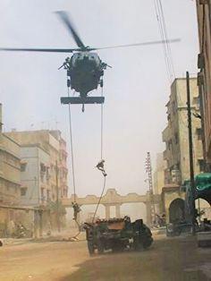 Battle of Mogadishu Military Humor, Military Life, Military Art, Military History, Special Ops, Special Forces, Military Helicopter, Military Aircraft, Battle Of Mogadishu