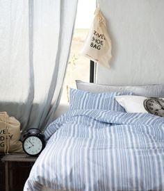 Stripe bedsheets