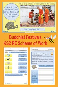 Learn about some of the ways in which Buddhists celebrate around the world with this RE scheme of work for Year Buddhism Facts, What Is Enlightenment, Festival Names, Buddha Birthday, Religion Activities, Buddhists, World Religions, Religious Education, It Goes On