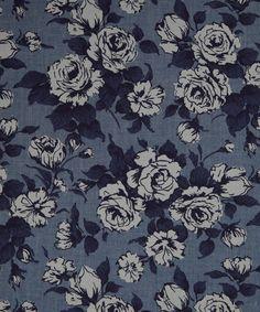 Liberty Art Fabrics Carline A Chambray | Chambray by Liberty Art Fabrics | Liberty.co.uk