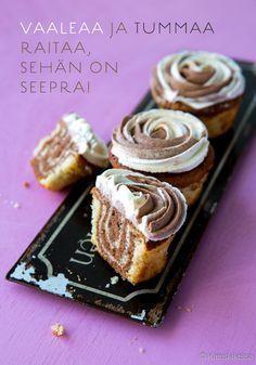 Seepramuffinsit #leivonta #resepti #muffinsit