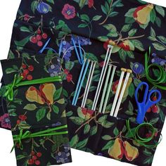 (9) Name: 'Sewing :  4 Knitting & Crochet Case Organizers