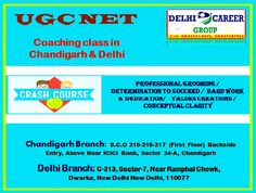UGC Net Coaching Class in Chandigarh & Delhi  Best UGC NET Computer science coaching institute in Chandigarh.  Our institute equips confined batches at flexible timing for better results in entrance exams. http://www.delhicareergroup.com/ugc-net-coaching-in-chandigarh.php
