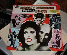The Rocky Horror Picture Show The Rocky Horror Picture Show LP Vinyl Tim Curry  #Horror
