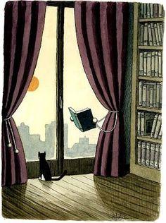 Ein tolles Bild für meine Leseecke...