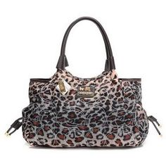 Coach Leopard Logo Medium Brown Totes EAA Give You The Best feeling!