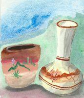 Navajo Vases from New Mexico by HaleyGottardo