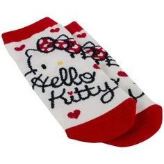 When you're just lounging around the house in your socks you'll always be reminded of your good friend Hello Kitty with her adorable red polka dot bow. There's nothing more reassuring than slipping on