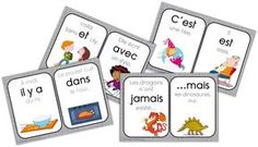 Printing Videos Technology Architecture French Videos For Kids Link Read In French, How To Speak French, Learn French, French Language Lessons, French Lessons, Montessori Activities, Educational Activities, Grade 1 Reading, French Flashcards