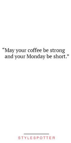Amen to that! #HappyMonday
