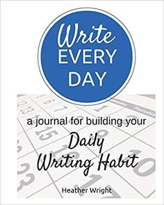 Write The Story Writing Prompt Journal Blank Book Piccadilly 2017 Blank Journal, Daily Journal, Journal Prompts, Journals, Writing Tips, Writing Prompts, Heather Wright, Write Every Day, Blank Book