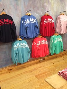 88fbea48eeae Ole Miss spirit jerseys - So comfortable and comes in enough colors to  match any outfit