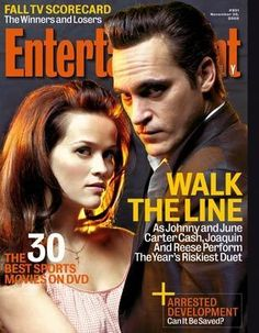 See Joaquin Phoenix & Reese Witherspoon pictures, photo shoots, and listen online to the latest music. Johnny And June, Line Tv, Fall Tv, Walk The Line, Winners And Losers, Line Photo, Joaquin Phoenix, Entertainment Weekly, Reese Witherspoon