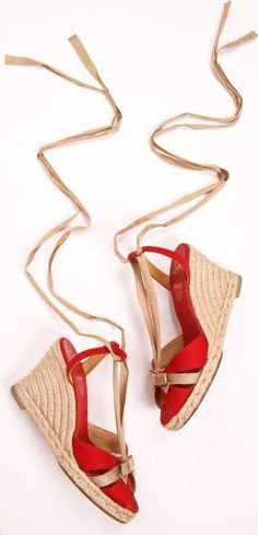 prada yellow wedges | Prada Camoscio Espadrille Wedge Suede Sandal Yellow Women's 7.5 M US ...