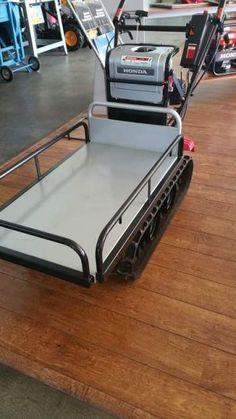 Carrello cingolato Honda hp 350