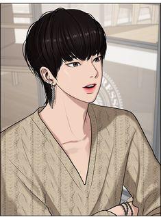 Hot Anime Boy, Anime Guys, Manga Anime, The Secret, Webtoon Comics, Handsome Anime, Animes Wallpapers, Anime Sketch, Boy Art