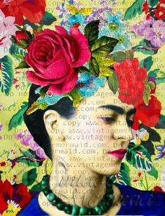 Mixed Media Collage Fabric Frida Kahlo Quilt Crafts Block Mixed Media Collage Fabric Frida Kahlo Quilt Crafts Block Frida Kahlo posing elegantly with her hair flowers. The perfect Mixed Media Frida Kahlo fabric block for all your crafts projects! Frida Kahlo Fabric, Frida Kahlo Artwork, Frida Art, Mixed Media Collage, Collage Art, Block Craft, Flowers In Hair, Sculpture Art, Art Projects