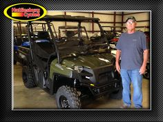 Thank you Leslie Odom from Waynesboro MS for getting a 2017 Polaris Ranger 570 #polaris