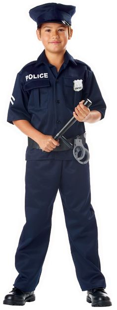 Police Officer Child Costume from Buycostumes.com