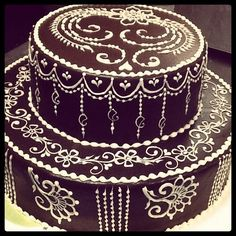 Wedding cake by heartfire, via Flickr