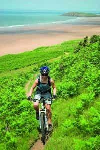 Mountain Biking - Gower Coast