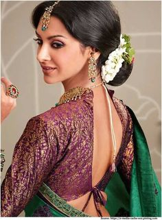 Silk sarees are important part of south Indian weddings and most Indian brides have atleast one kanjeevaram in their wedding trousseau. S...