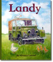 Landy By Veronica Lamond : A must for all #LandRover lovers and their kids