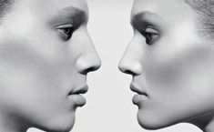 """Two sides: """"which is male, which is female"""" Tush Magazine Features Androgynous Brother & Sister"""