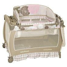 Baby Trend Deluxe Nursery Center - Chrissy including highchair and bouncer @ Babies R Us (Shawna & Sinisa registry)