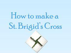 How to make a St. Brigids cross