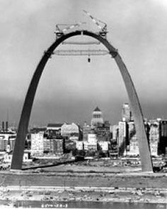 The St. Louis Arch was built during the 1960s.  Learn all about St. Louis MO from a native... MUCH more than just an arch.