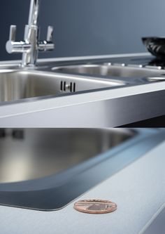Introducing Abode's latest innovation, the ultra slim, flush fit or inset sink range. This Connekt Flushfit 1.5 Bowl & Drainer also available as a one bowl option with its ultra thin edge detailing delivers a sleek, contemporary look to any chosen worktop. Teamed of course with a distinctive drainer pattern and not forgetting the premium 18/10 grade stainless steel material, this is quite simply an all round stunning design.
