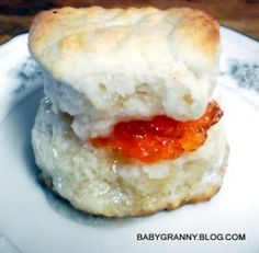 From the hills of Arkansas comes Baby Granny sharing her Aunt Geraldine's recipe for Biscuits.