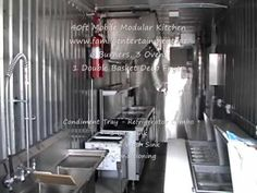The for mobile Kitchen rental nationwide and in California, ideal for renovations & remodels, mobile kitchens for rent nation-wide, call today to discuss your upcoming event. Kitchen Contractors, Storage Facility, Jersey City, Commercial Kitchen, Kitchen Design, Usa, Business, Design Of Kitchen, Commercial Cooking