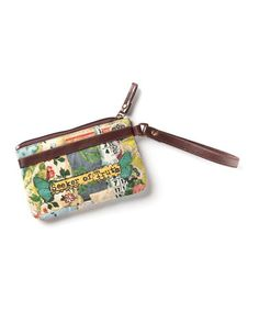 Another great find on #zulily! Brown & Yellow 'Seeker of Truth' Wristlet #zulilyfinds