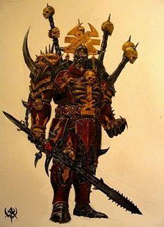 "Warhammer 40k, Legions of Chaos - ""Champion of Khorne"""