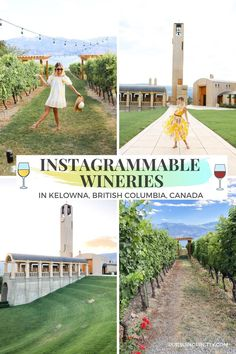 The Most Instagrammable Wineries in Kelowna - #instagramtravel #canada #canadian #kelowna #travelguide Photography Tips, Travel Photography, Floral Chiffon Maxi Dress, Terrace Restaurant, World Travel Guide, The Perfect Getaway, Mountain Resort, Instagram Worthy, Canada Travel