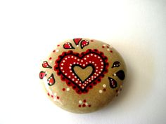 Mothers day Painted Stone - Painted Rock - Original hand painted stone - upcycled. €14.99, via Etsy.