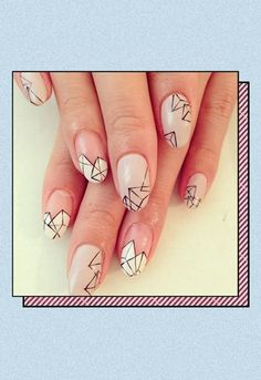 The week's best Instagram nail art, from zig zags to Ella Eyre's heart-shaped mani